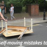 Mistakes when moving yourself