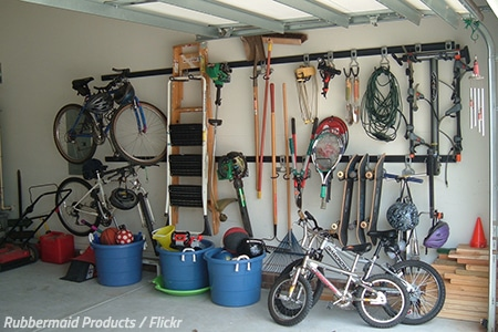 Tips for packing a garage