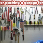 Best way to pack a garage for moving
