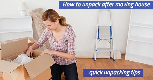 How to unpack after a move