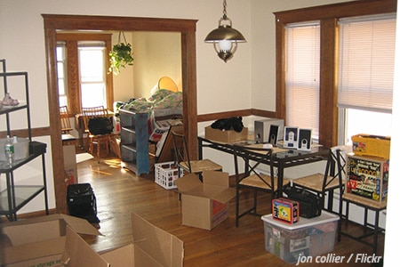How to unpack your room after moving