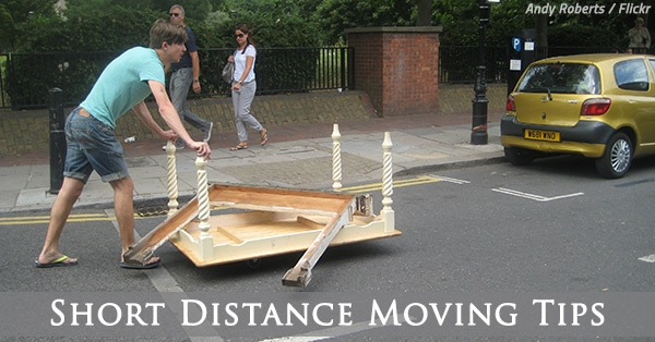 tips for moving short distance