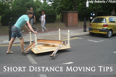 How to move short distance?