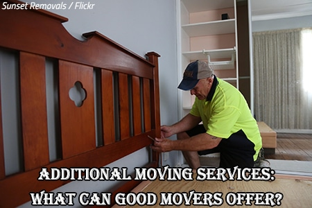 Extra moving services