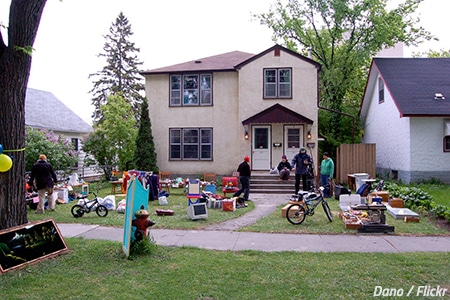 Organize a garage sale