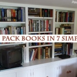 How to pack books for a move in 7 simple steps