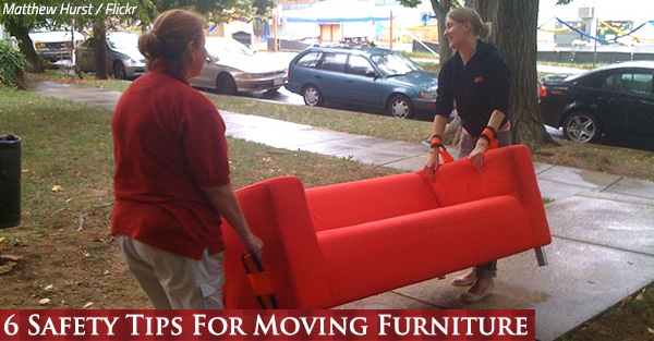 6 Safety Tips For Moving Furniture