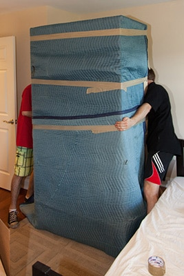 How to pack furniture when moving house