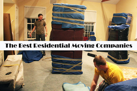Residential movers in action