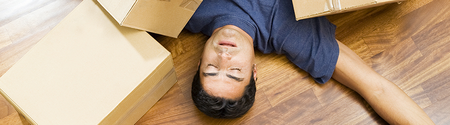 Common mistakes when moving house