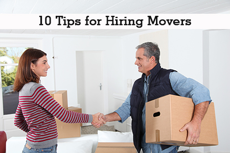 How to hire movers: tips