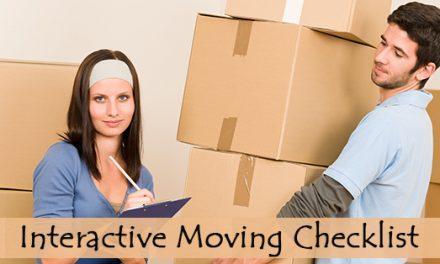 Moving Checklist: Interactive & Printable Moving Checklist