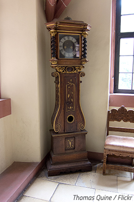 The proper way to move a grandfather clock