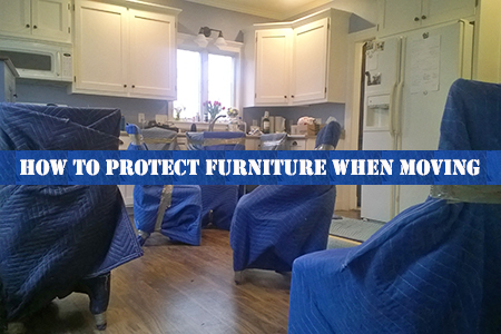 How to protect your furniture when moving home