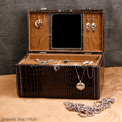 How to pack a jewelry box