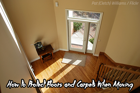 Best way to protect floors when moving