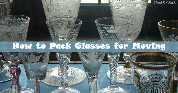 How to Pack Glasses for Moving: Glassware Packing Guide