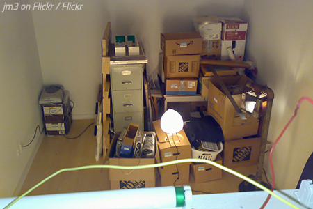 What to pack first when moving? Your storage areas.