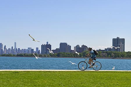 Chicago biking