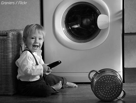 Proper way to move a washing machine