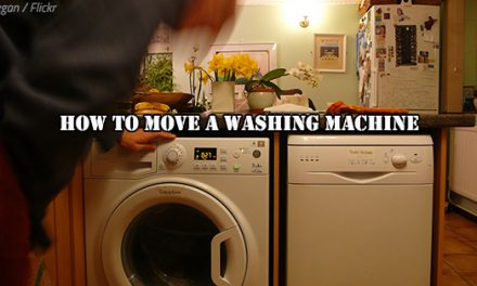 How to Move a Washing Machine Without Hiring Movers
