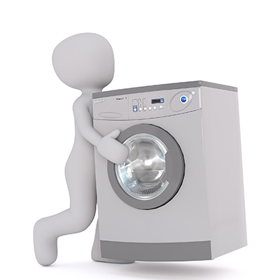 How to move a washing machine with a dolly