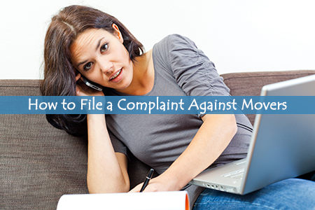 How to complaint about a moving company