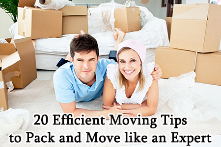 Tips for efficient packing and moving