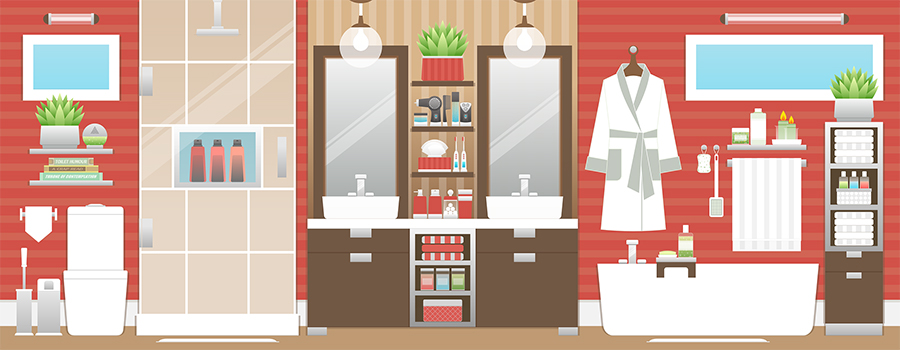 How to pack a bathroom when moving house