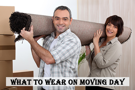 What to wear on moving day