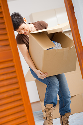 What shoes to wear when moving home