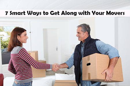 How to get along with movers