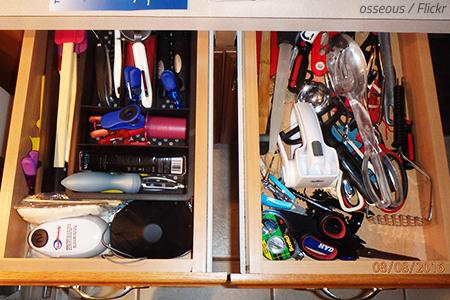 Packing kitchen essentials
