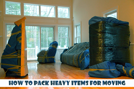 The best way to pack heavy items