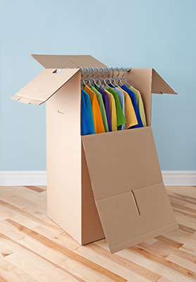 How to pack heavy clothes for moving