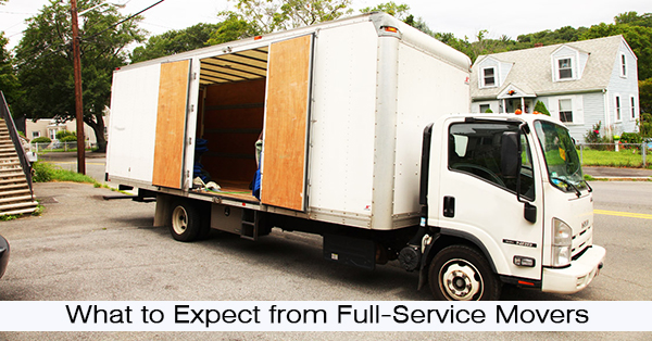 What to Expect from Full-Service Movers: Expect the Expected