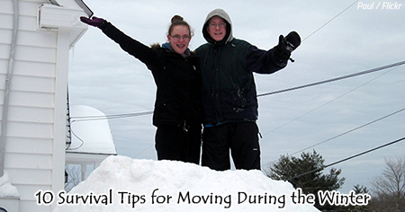 Moving in the winter tips