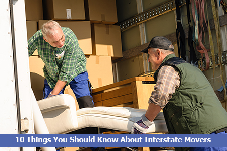 Things to know about interstate moving companies