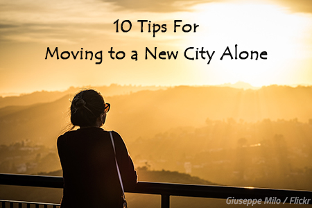 Moving to a new city alone