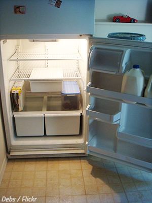 Moving a refrigerator to another home