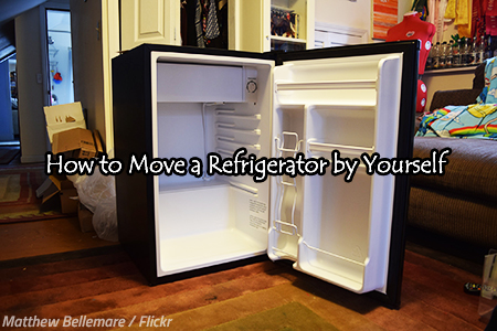 How to move a fridge to a new home