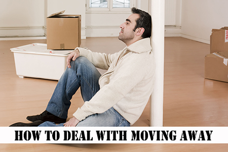 How to cope with moving away from family and friends