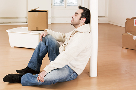 The stress of moving house