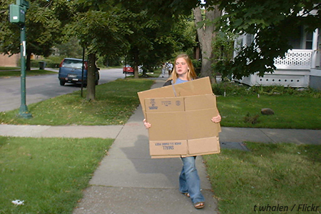 Steps to moving out of parents' house