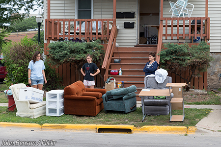 Moving out of parents' house
