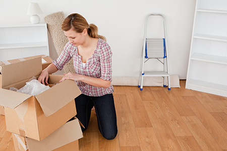 How to unpack after moving