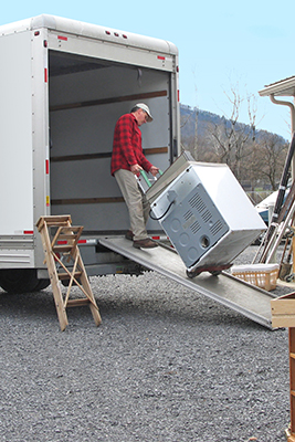 How do movers pack a truck?